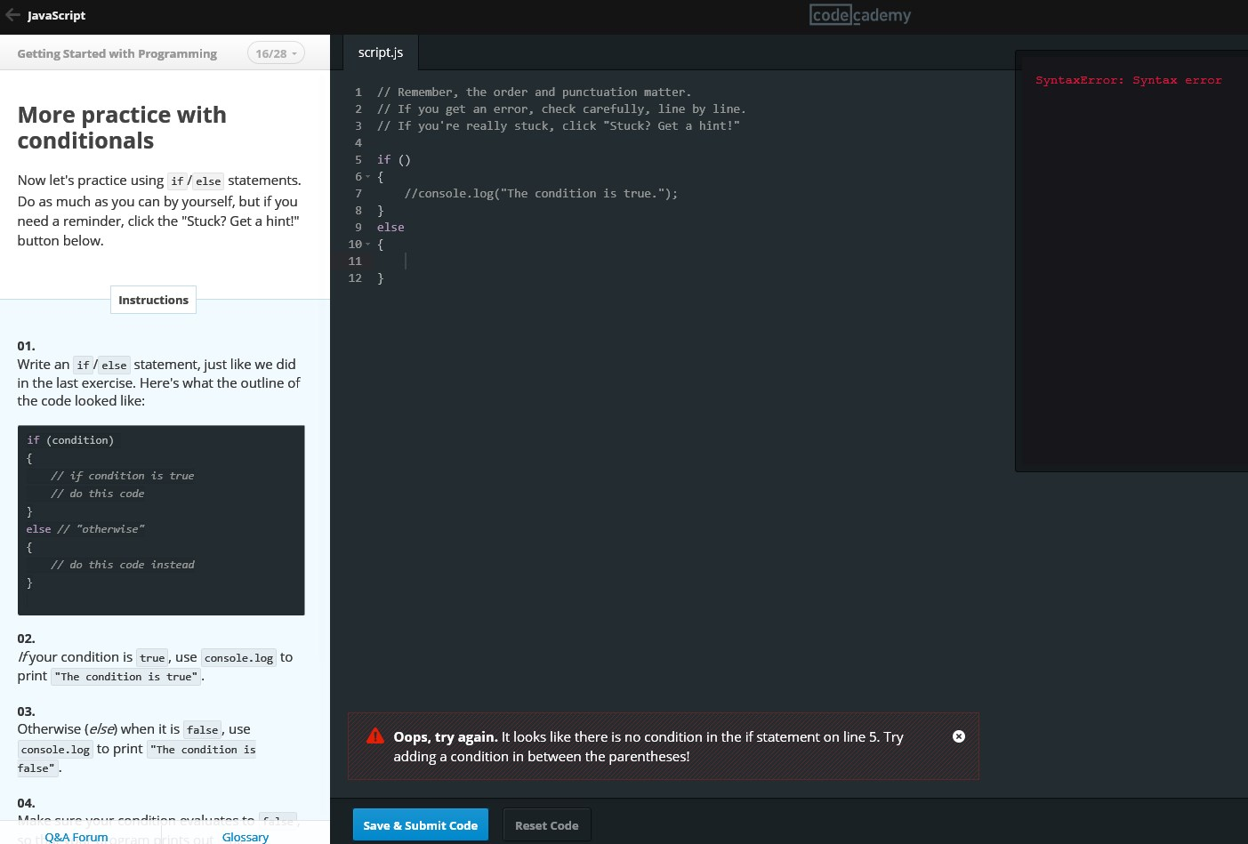 Instruction Error On Python 17 Review Functions Codecademy Discuss