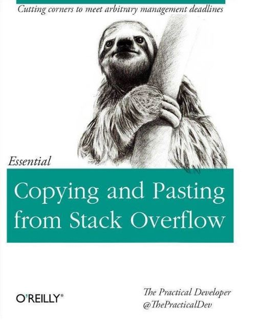Copying and Pasting from Stack Overflow.
