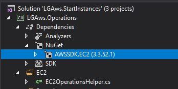 AWSSDK.EC2 Nuget Package.